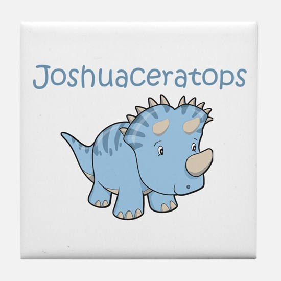 Joshuaceratops Tile Coaster