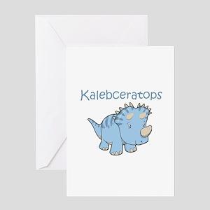 Kalebceratops Greeting Card