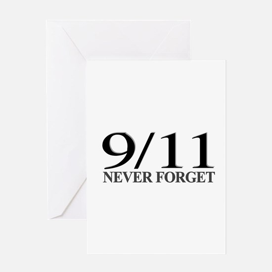 9/11 Never Forget Greeting Card