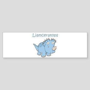 Liamceratops Bumper Sticker