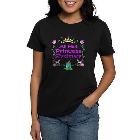 All Hail Princess Sydney Women's Dark T-Shirt