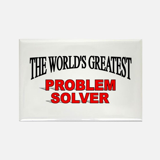 """The World's Greatest Problem Solver"" Rectangle Ma"