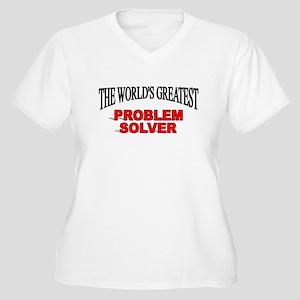 """The World's Greatest Problem Solver"" Women's Plus"