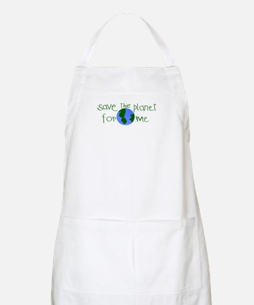 Save the Planet for me BBQ Apron