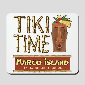 Marco Island Tiki Time - Mousepad
