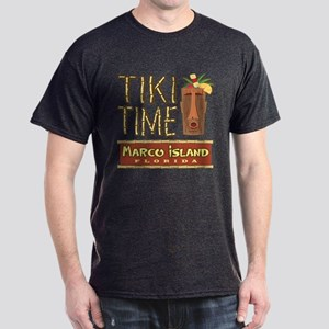 Marco Island Tiki Time - Dark T-Shirt