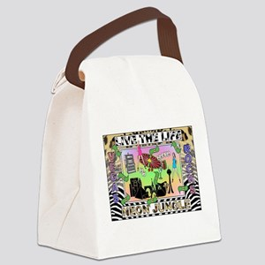 What Happens In Vegas Stays Canvas Lunch Bag