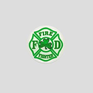 Irish Fire Fighter Mini Button
