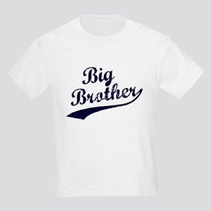 Big Brother (Blue Text) Kids Light T-Shirt