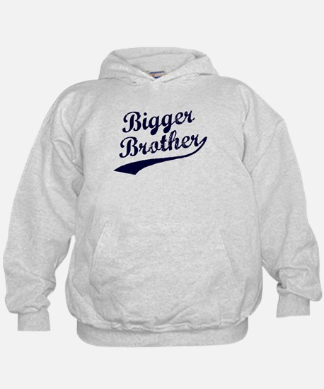 Bigger Brother (Blue Text) Hoodie
