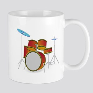 neon drum set 1 Mugs