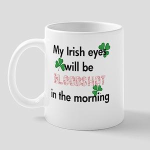 My Bloodshot Irish Eyes Mug