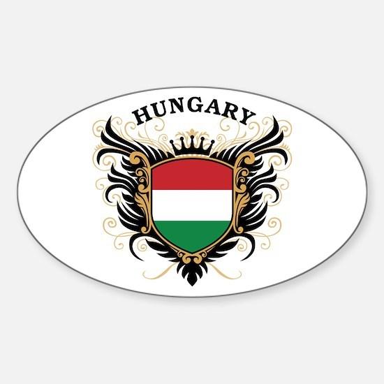 Hungary Sticker (Oval)