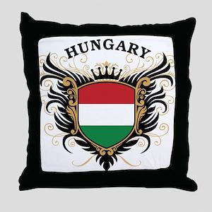 Hungary Throw Pillow