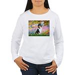 Garden / Collie Women's Long Sleeve T-Shirt