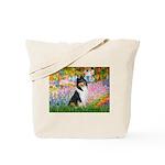 Garden / Collie Tote Bag