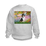 Garden / Collie Kids Sweatshirt