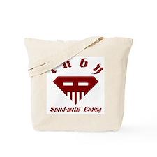 Speed-metal Ruby Tote Bag