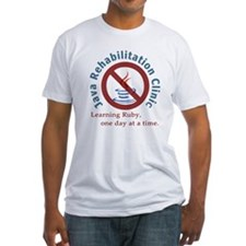 Java Rehab Clinic Fitted T-Shirt