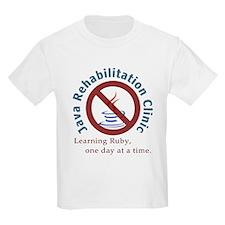 Java Rehab Clinic Kids T-Shirt