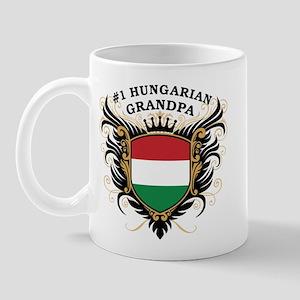 Number One Hungarian Grandpa Mug