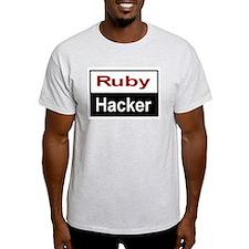 Ruby hacker Light T-Shirt
