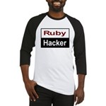 Ruby hacker Baseball Jersey