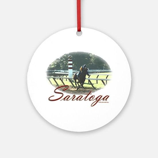 Saratoga Stretch Ornament (Round)