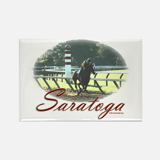 Saratoga Stretch Rectangle Magnet