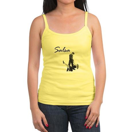 Salsa Dancers Jr. Spaghetti Tank