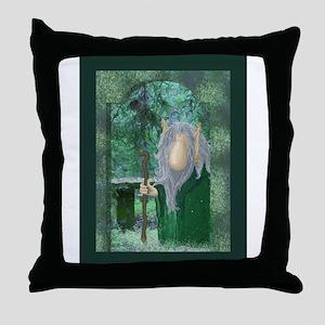 Troll/Guardian Throw Pillow