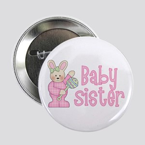 """Bunny Baby Sister Rattle 2.25"""" Button"""