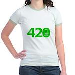 420 Jr. Ringer T-Shirt