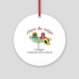 Cinco de Mayo Friend Ornament (Round)