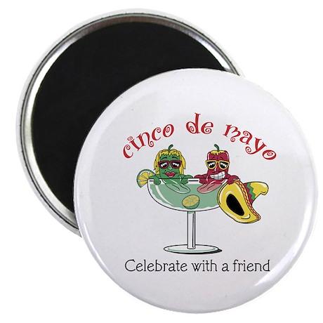 Cinco de Mayo Friend Magnet