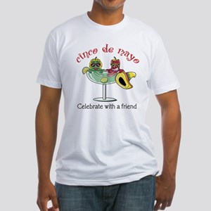 Cinco de Mayo Friend Fitted T-Shirt