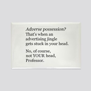 Adverse Possession Rectangle Magnet