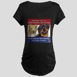 Anti-BSL Maternity Dark T-Shirt