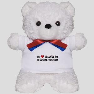 Belongs To A Social Worker Teddy Bear