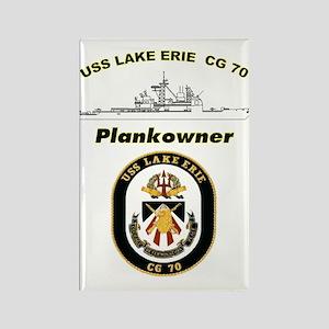 CG 70 Plankowner Crest Rectangle Magnet