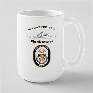CG 70 Plankowner Crest Large Mug