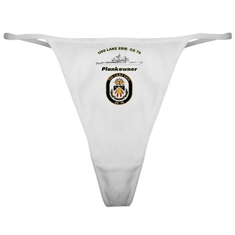 CG 70 Plankowner Crest Classic Thong