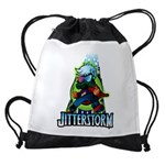 Jitterstorm Drawstring Bag