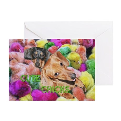Cute Chicks Greeting Cards (Pk of 20)