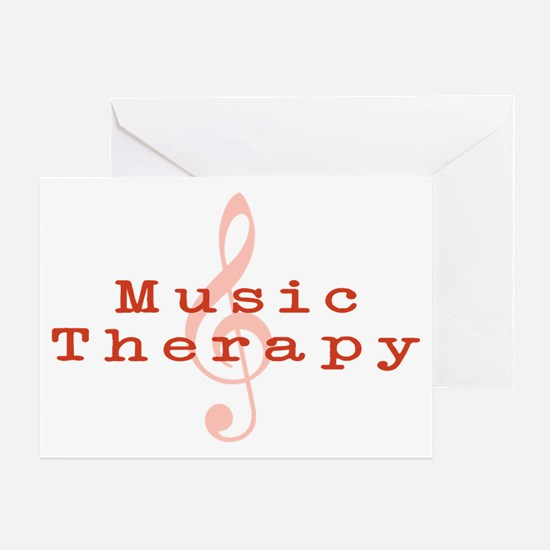 Music Therapy Greeting Card