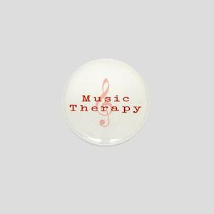 Music Therapy Mini Button