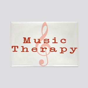 Music Therapy Rectangle Magnet