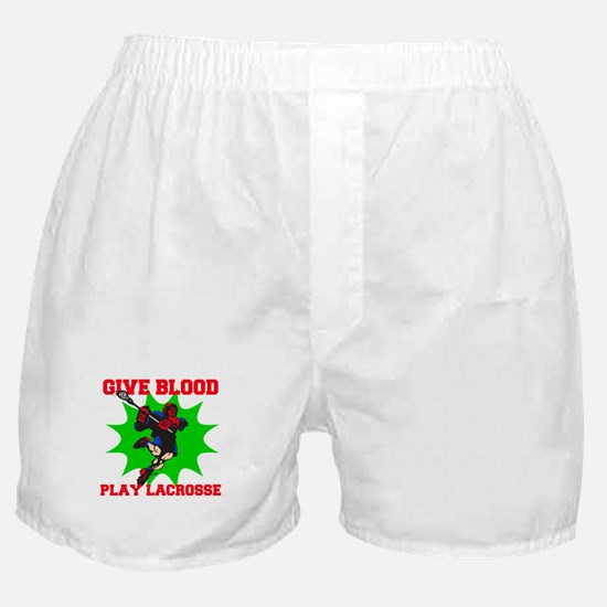 Lacrosse Give Blood III Boxer Shorts