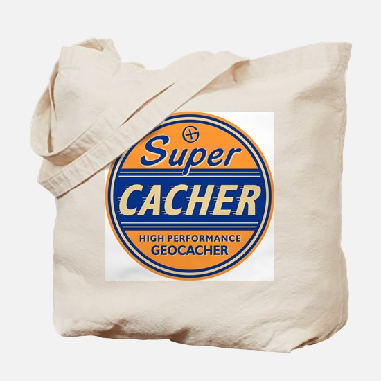 SuperCacher Tote Bag