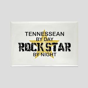 Tennessean Rock Star Rectangle Magnet